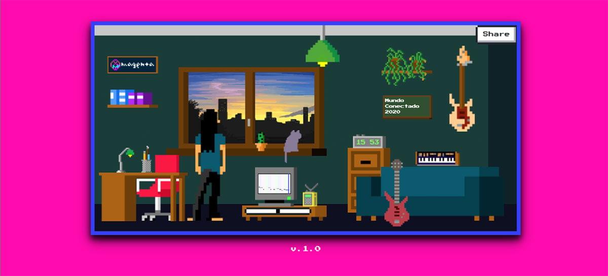 Lo-Fi Player do projeto Google Magenta é um estúdio de música baseado em IA