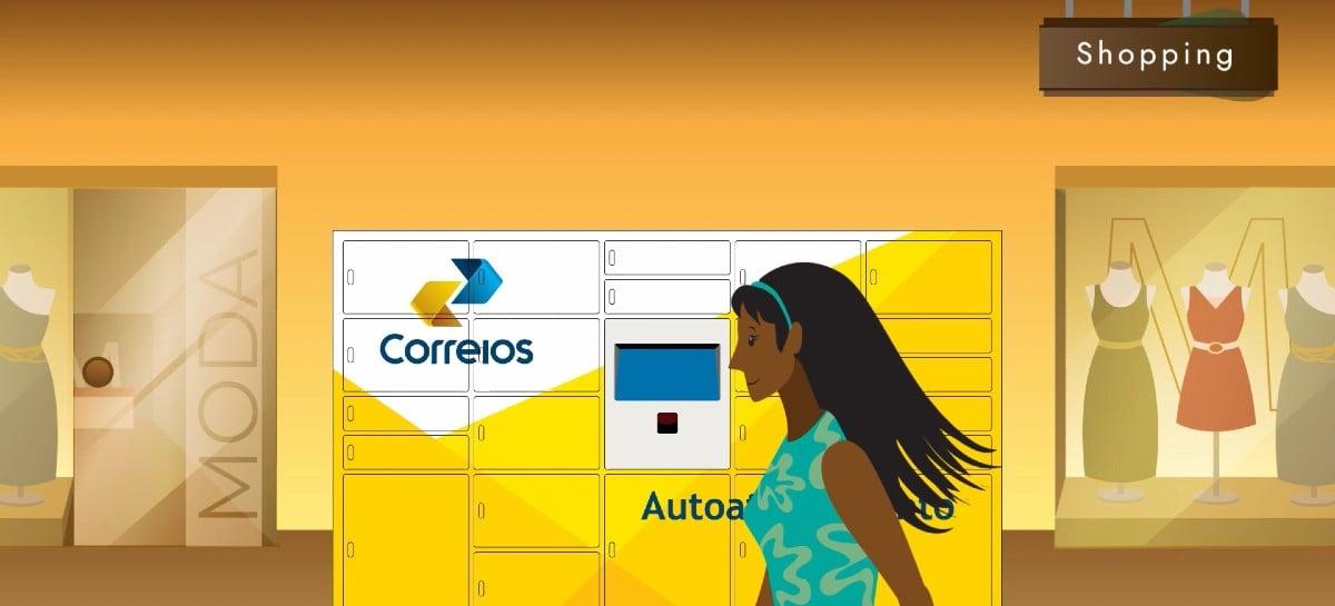 Locker de autoatendimento dos correios chega em São Paulo