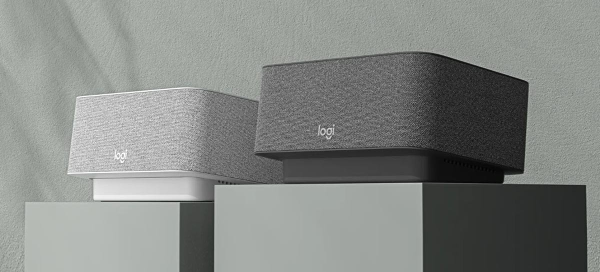 Logi Dock é uma caixa de som para o escritório que pode eliminar os cabos da sua mesa