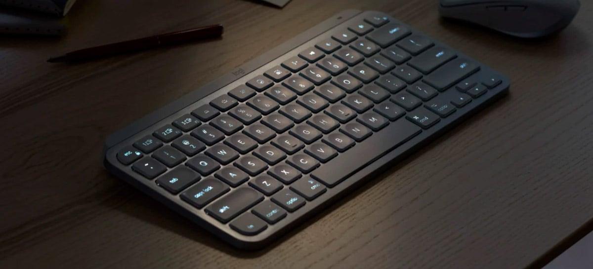 Logitech lança teclado compacto e minimalista MX Keys Mini