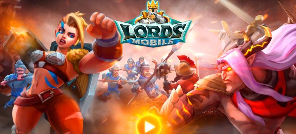 Lords Mobile está recebendo uma grande atualização de final de ano