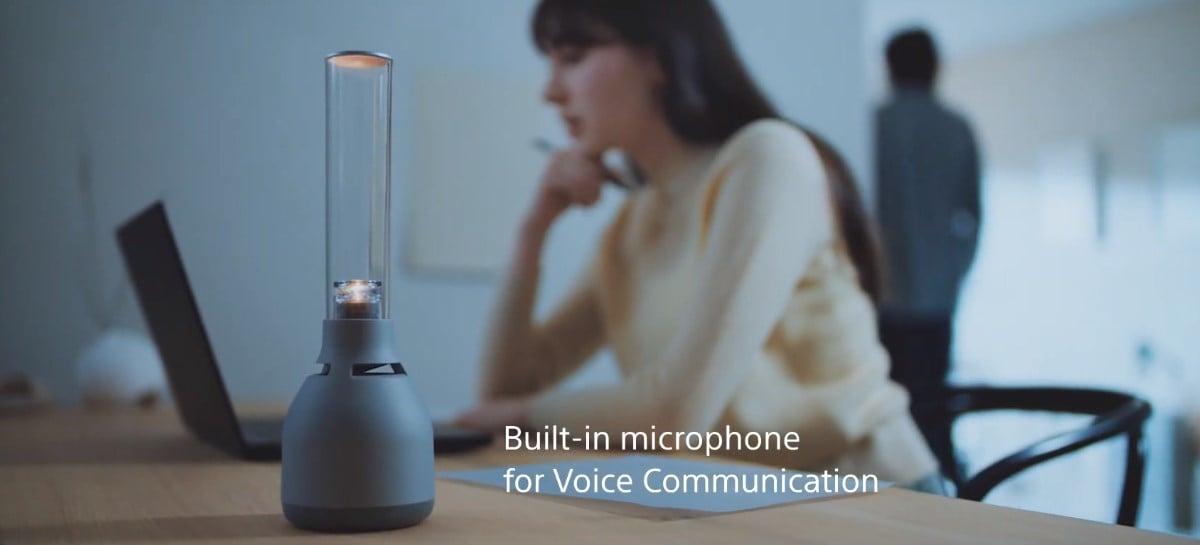 Sony mostra nova versão de seu speaker em forma de lâmpada