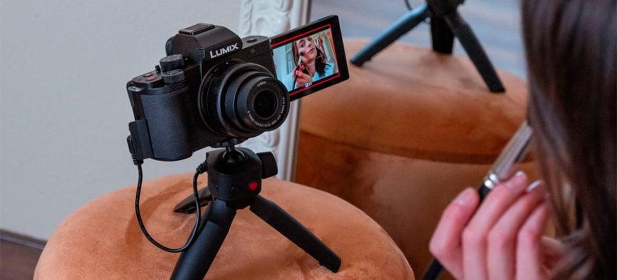 Panasonic lança a Lumix G100, sua nova câmera para vlogging que custa US$ 750