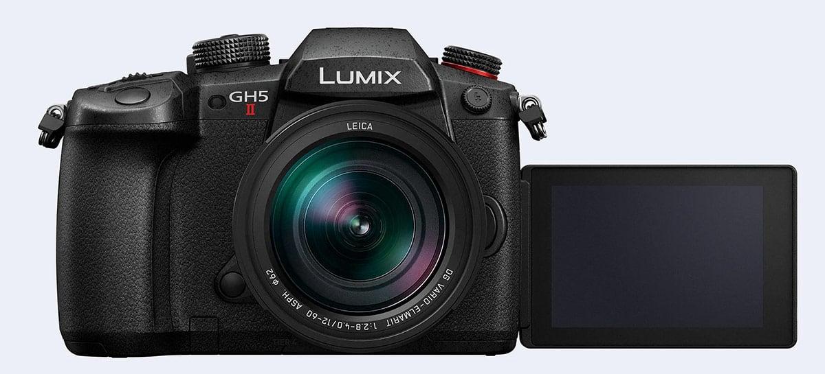 Lumix GH5 II traz filmagem em 4K mais avançada e função de streaming
