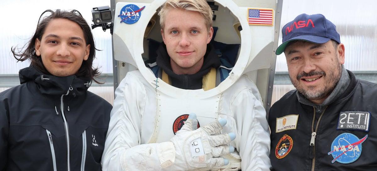 Nova luva inteligente para astronautas pode ser usada na exploração de planetas