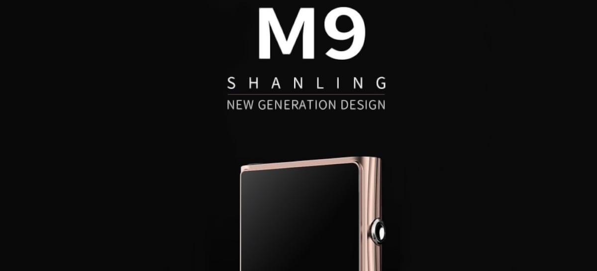 "Design elegante: Shanling M9 tem tela AMOLED de 6"" e Snapdragon 665"