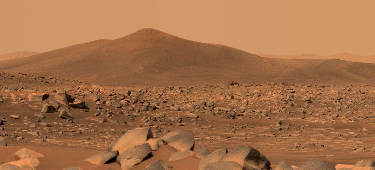 NASA divulga vídeo em 4K e 360º de Marte registrado pela Perseverance