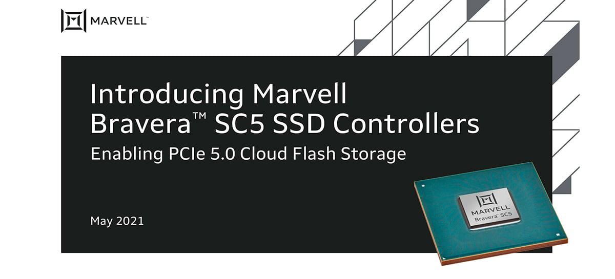 Marvell anuncia controlador SSD PCIe 5.0 até 30 vezes mais rápido que SSDs SATA