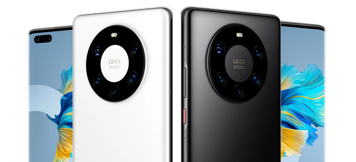 Huawei relança Mate 40 Pro, Mate 4E e Nova 8 Pro com HarmonyOS 2 na China