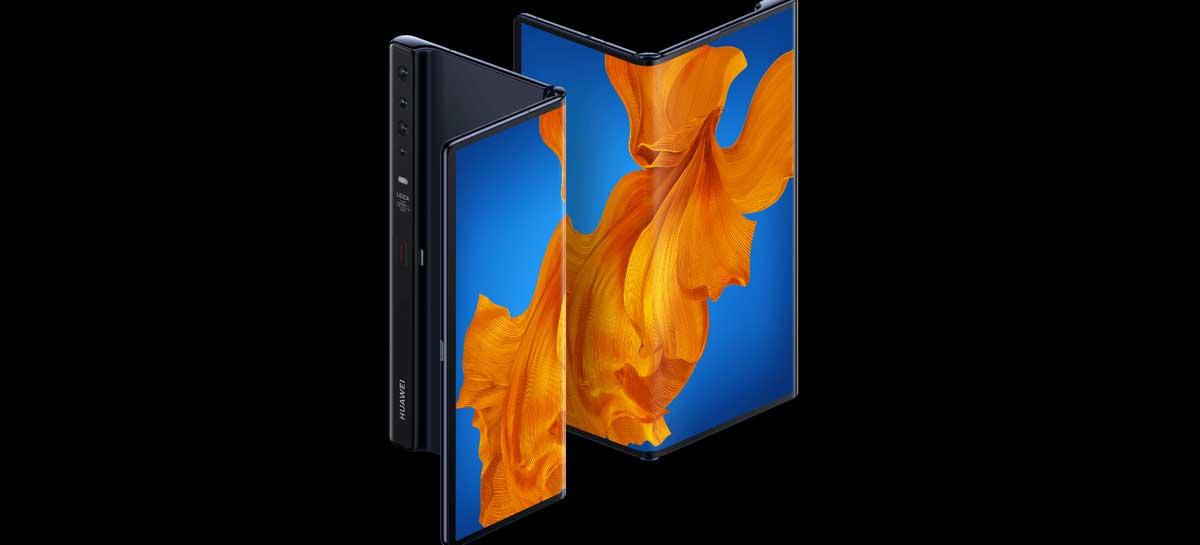 Huawei lança o dobrável Mate Xs com novo sistema de dobradiça e 5G