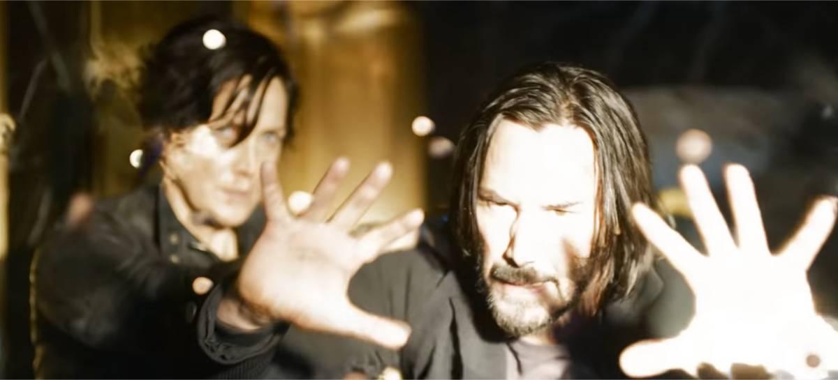 NO AR! Veja o primeiro trailer de The Matrix: Resurrections