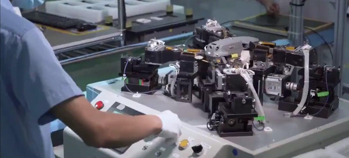 Veja como é a produção e testes do drone Mavic 2 na fábrica da DJI