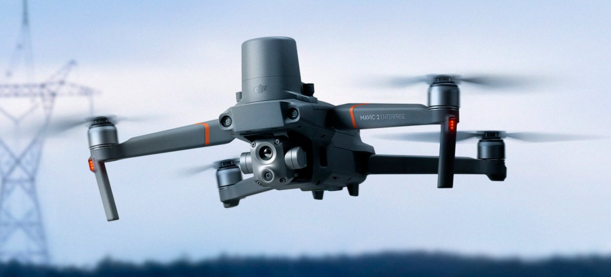 DJI lança drone Mavic 2 Enterprise Advanced com nova câmera termal e zoom de 32x