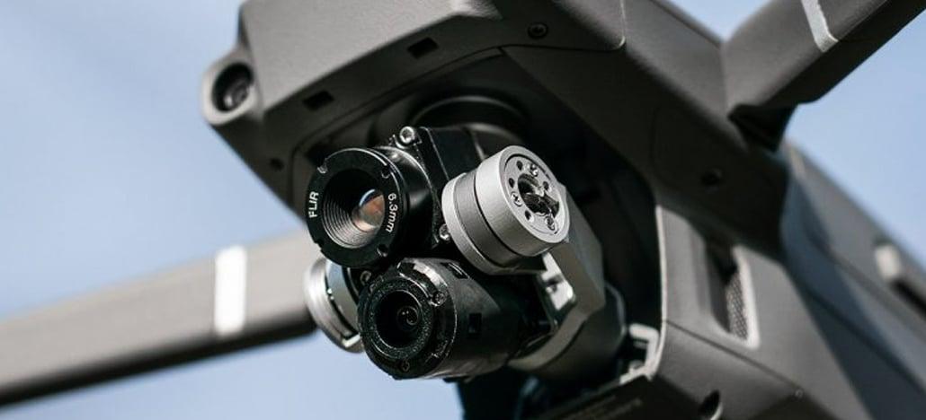Drone Doctor anuncia Thermal MK.III - Mavic 2 Zoom modificado com câmera thermal!