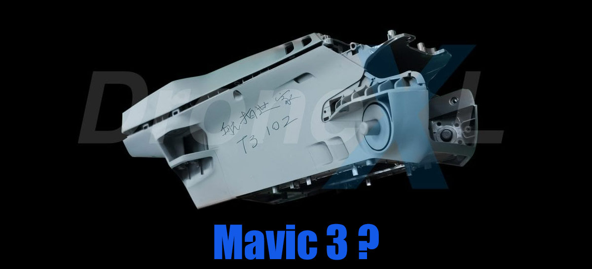 Drone DJI Mavic 3 tem suposto corpo vazado revelando novo encaixe da bateria