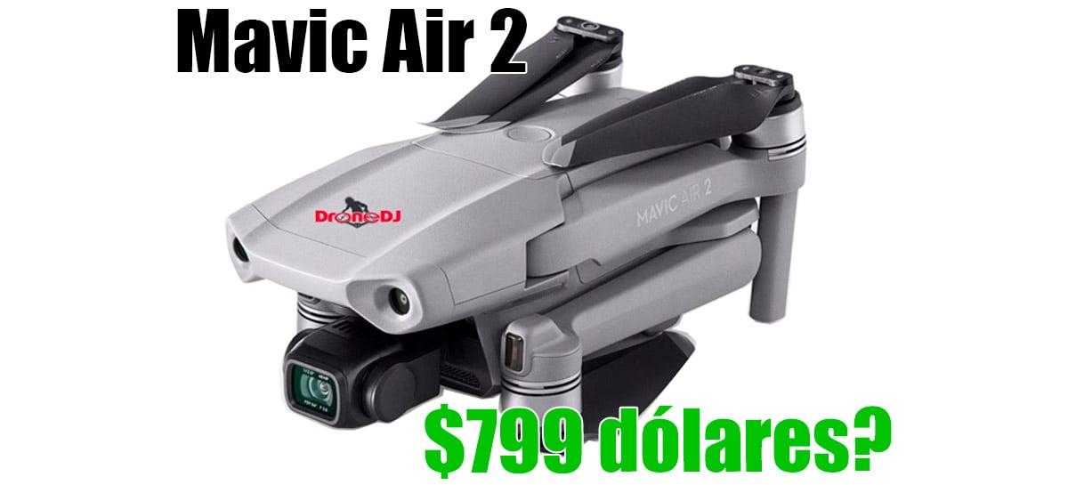 Drone Mavic Air 2 custará $799 dólares de acordo com novo vazamento com mais fotos