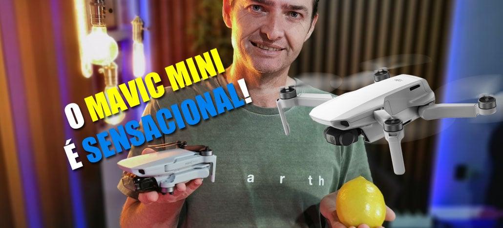 Mavic Mini - Conheça o sensacional drone de 249 gramas da DJI em nosso unboxing