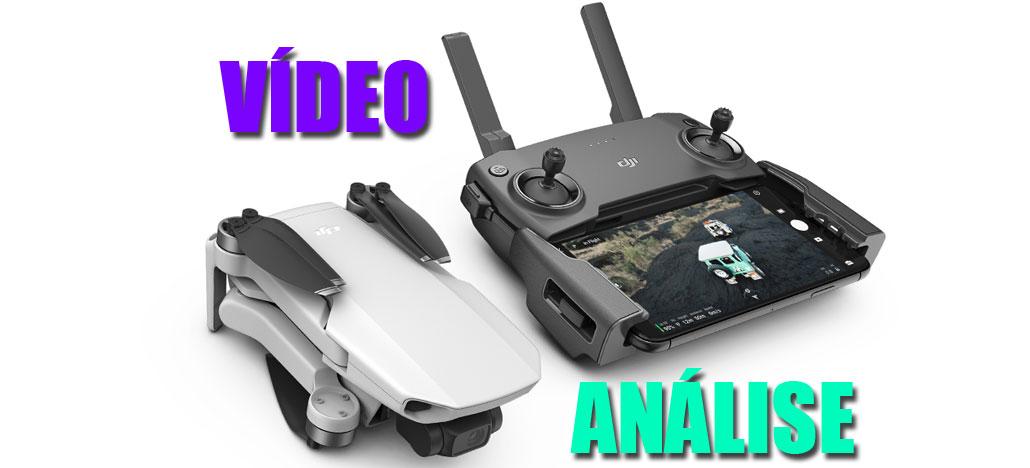DJI Mavic Mini - ANÁLISE em VÍDEO desse drone ideal para levar em viagens