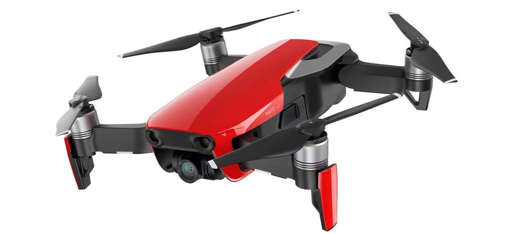 DJI lança update de firmware V01.00.0200 para drone portátil Mavic Air