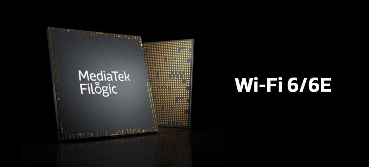 MediaTek anuncia novos chips Filogic para Wi-Fi 6E