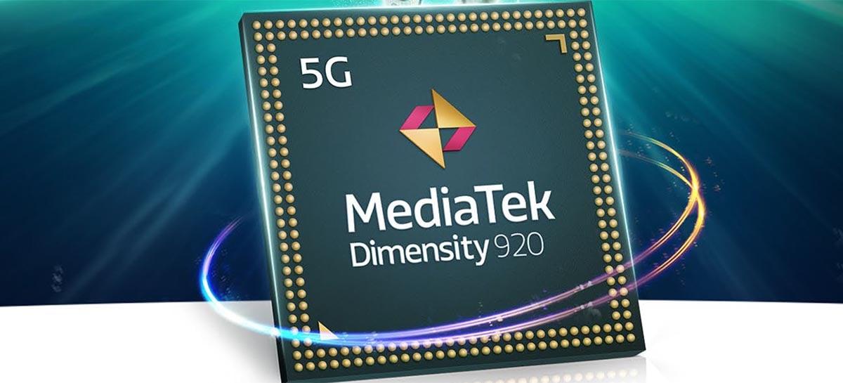 MediaTek revela chipsets Dimensity 920 e Dimensity 810 de 6 nm