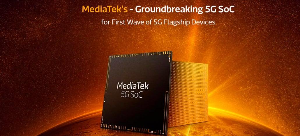MediaTek anuncia oficialmente Helio M70 5G integrado, o seu primeiro SoC 5G de 7nm