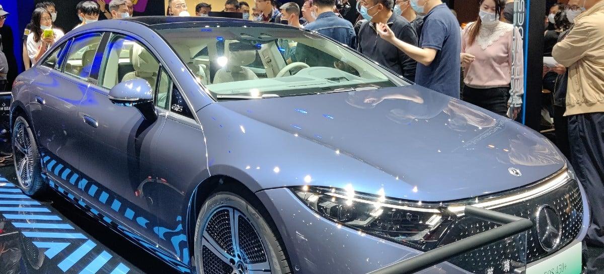 Mercedes-Benz confirma sedan elétrico EQS com preço a partir de R$ 640 mil