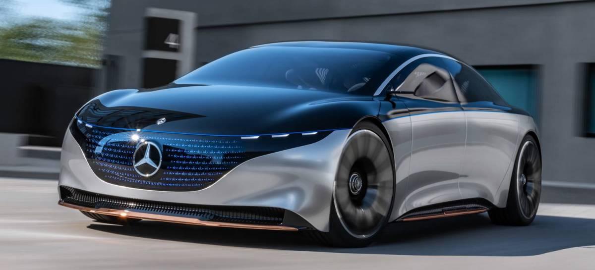 Mercedes planeja ter apenas carros elétricos até 2030