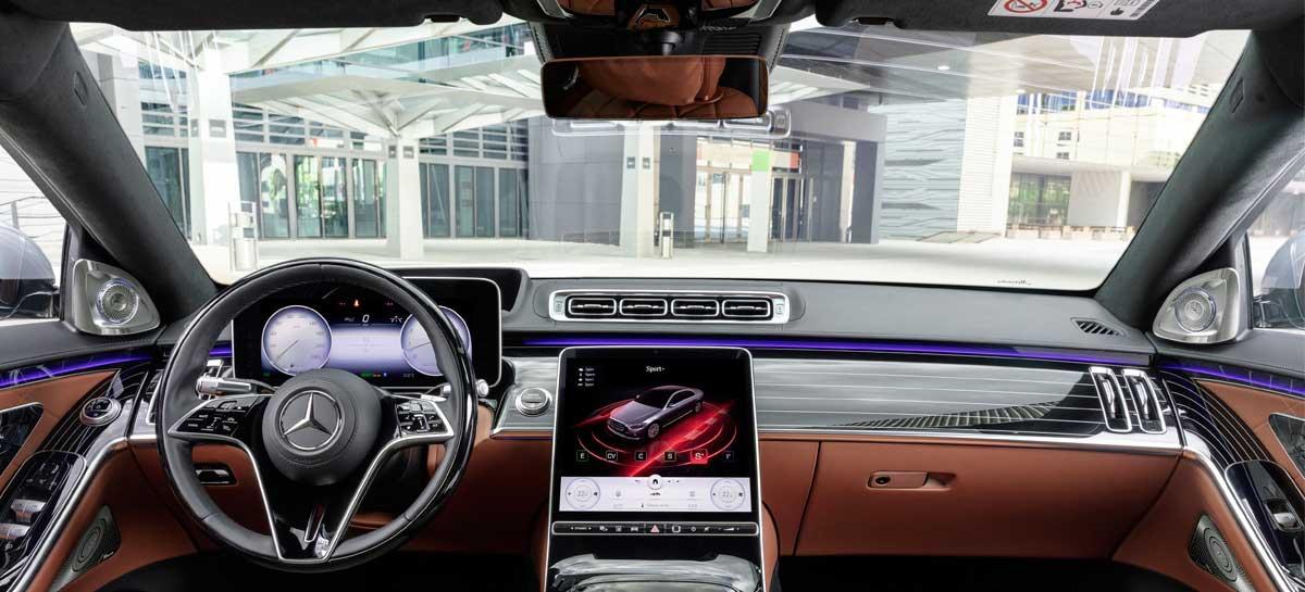 Mercedes apresenta S-Class, seu novo sedã de luxo com IA otimizado pela NVIDIA