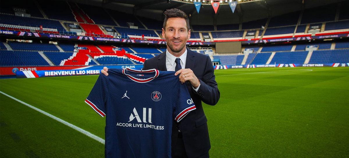 Paris Saint-Germain pagará parte do contrato de Messi com criptomoedas