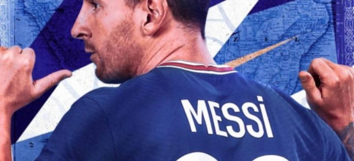 PSG confirma contratação de Messi com vídeo espetacular gravado com drone FPV