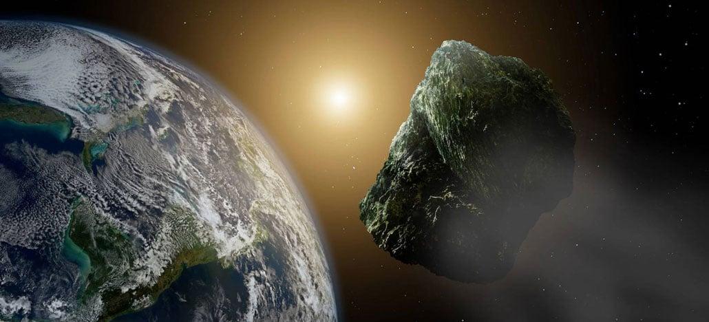 Asteroide de 930 mil toneladas passou perto da Terra ontem, dia 23