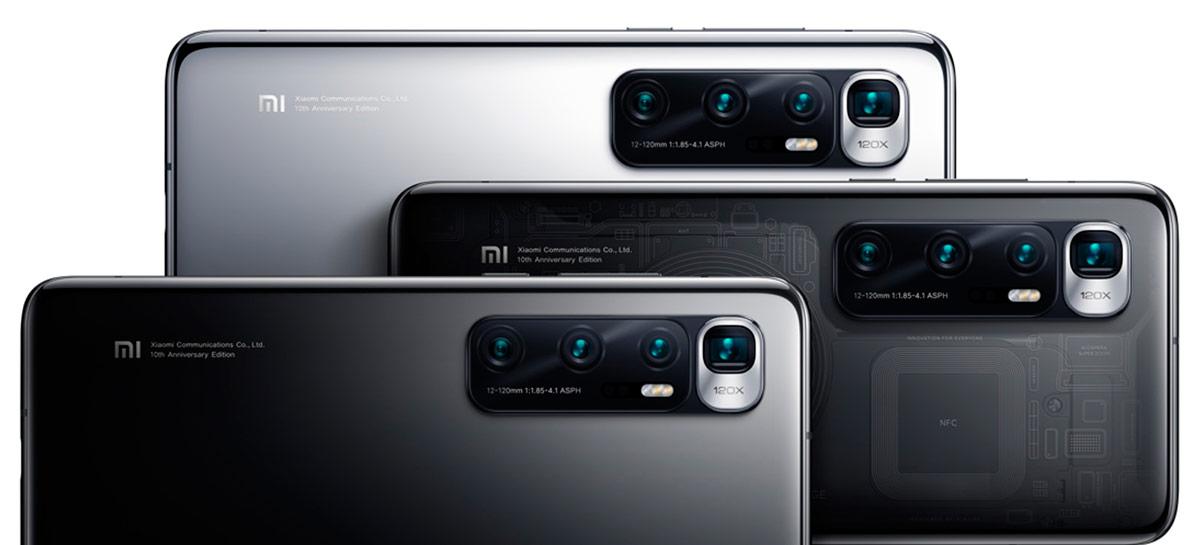 Xiaomi Mi 10 Ultra lidera ranking dos celulares mais rápidos em lista de agosto do AnTuTu