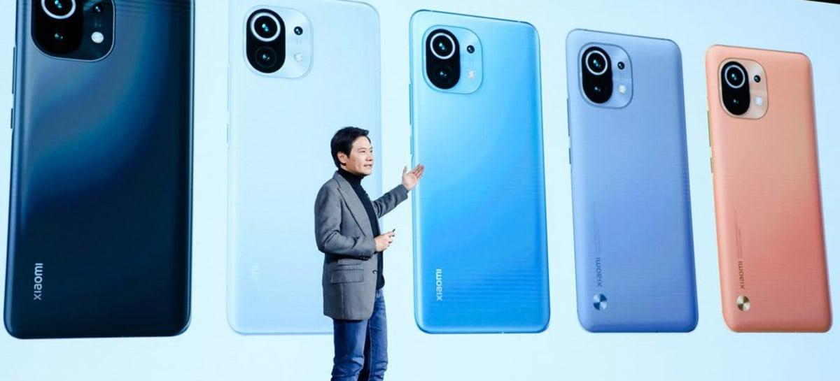 Xiaomi é a empresa que mais cresce na venda de celulares topo de linha