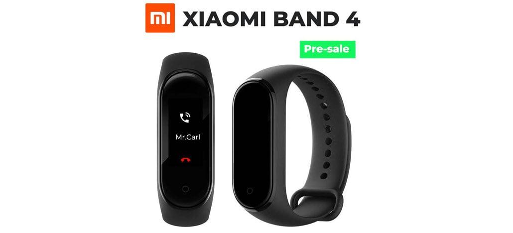 Xiaomi Mi Band 4 aparece no AliExpress por US$ 50 com tela colorida e mais bateria