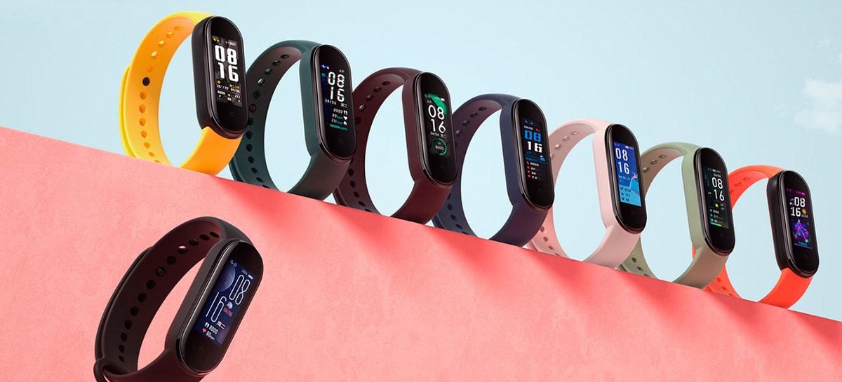 Xiaomi Mi Band 5 é lançada com display maior, 14 dias de bateria e mais sensores
