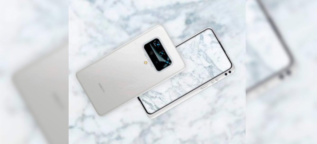 Supostas imagens do Xiaomi Mi Mix 4 revelam design BEM diferente