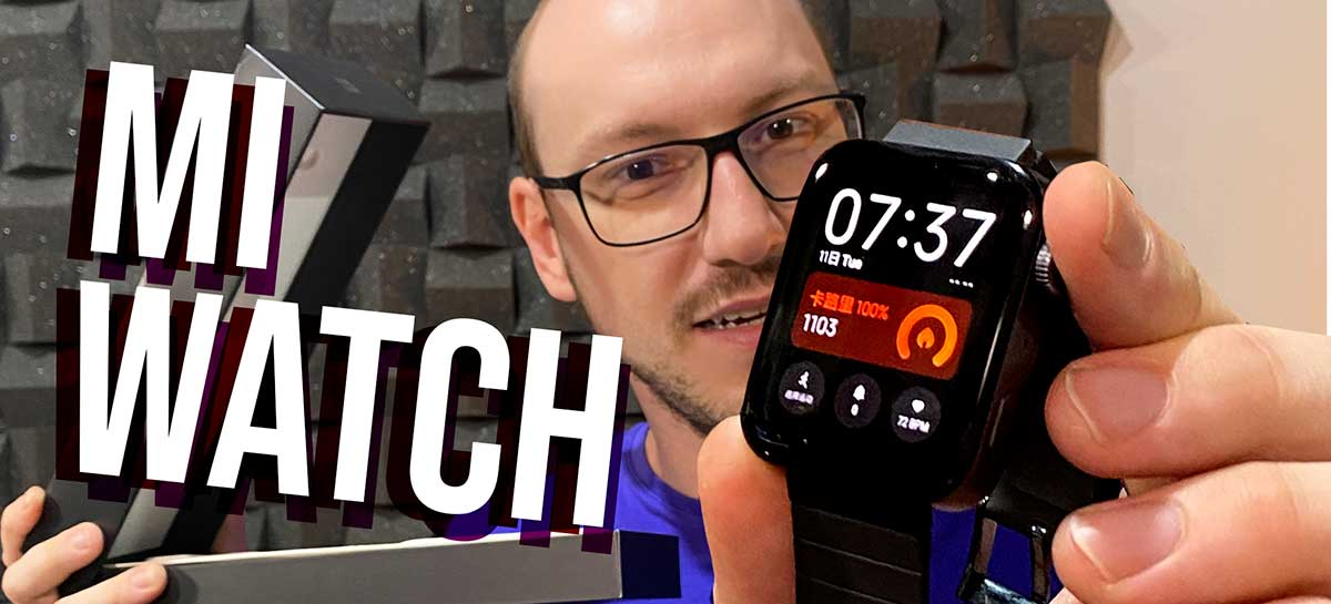 Mi Watch: tiramos da caixa o clone do Apple Watch e mostramos como configurá-lo!