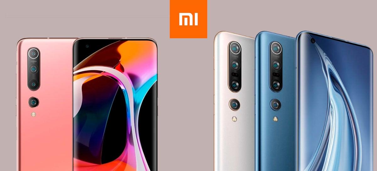 Xiaomi Mi 10 e Mi 10 Pro anunciados com câmera de 108MP, tela 90Hz e Snapdragon 865