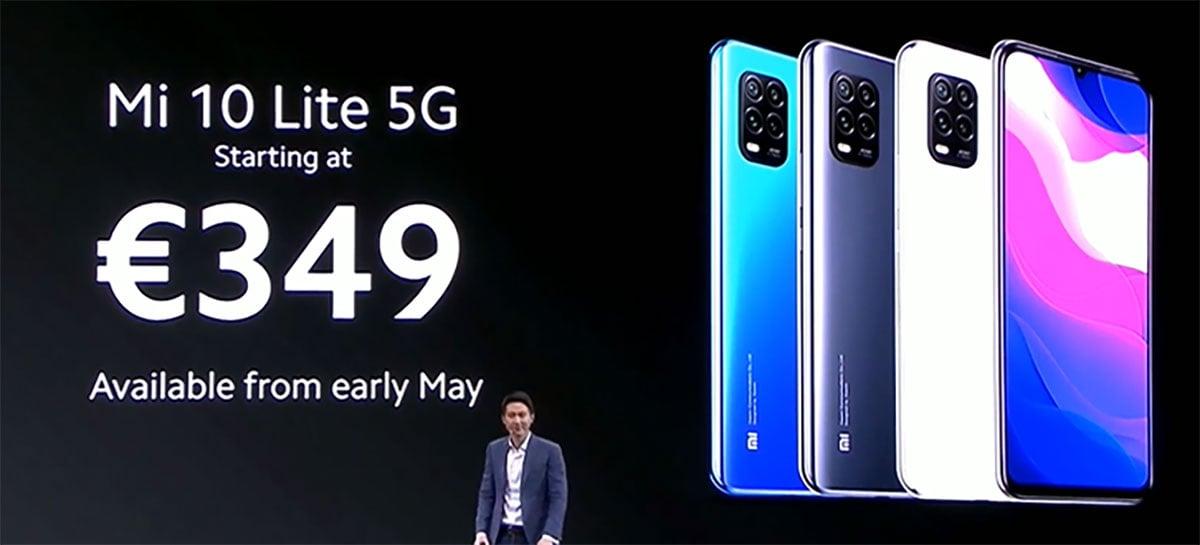 Xiaomi Mi 10 Lite é anunciado na Europa por € 349