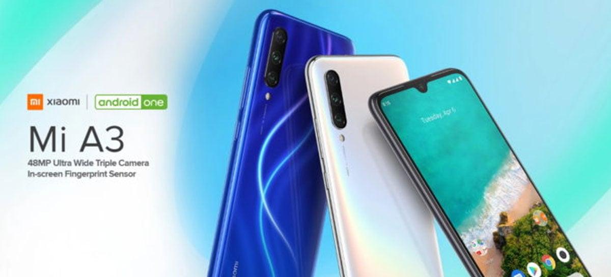 Xiaomi Mi A3 recebe quarta atualização para consertar falhas do Android 10