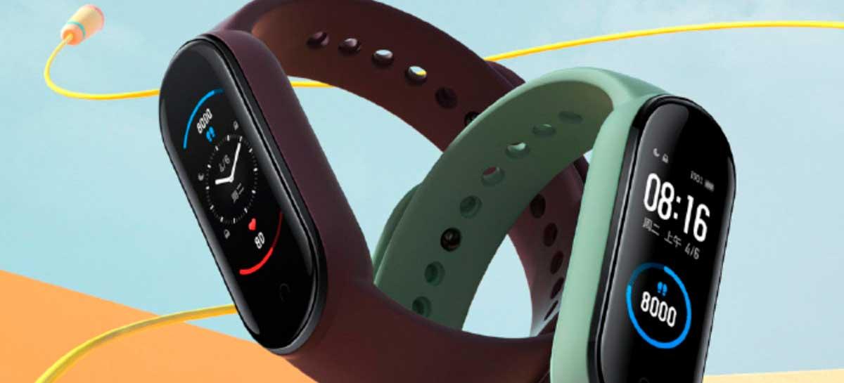 Xiaomi anuncia Mi Band 5 com tela de 1,1 polegada e novos modos de exercício
