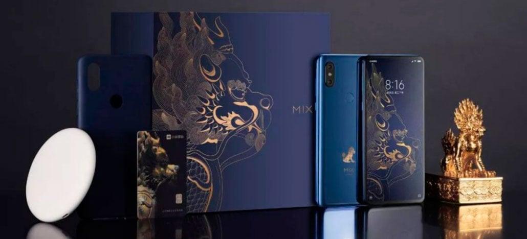 Xiaomi Mi Mix 3 Forbidden City Edition chega em dezembro com 10GB de RAM