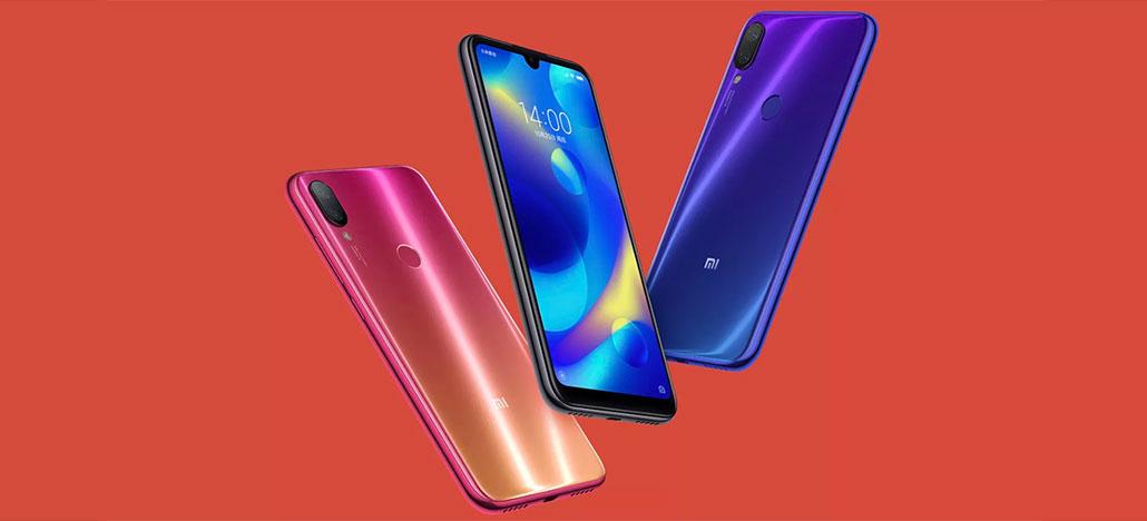 Xiaomi apresenta smartphone de entrada Mi Play com notch mínimo