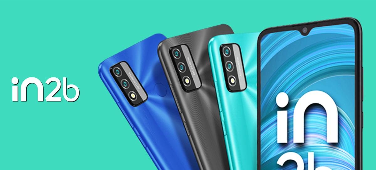 """Micromax IN 2b é anunciado com Android """"puro"""", chip Unisoc e bateria de 5.000mAh"""
