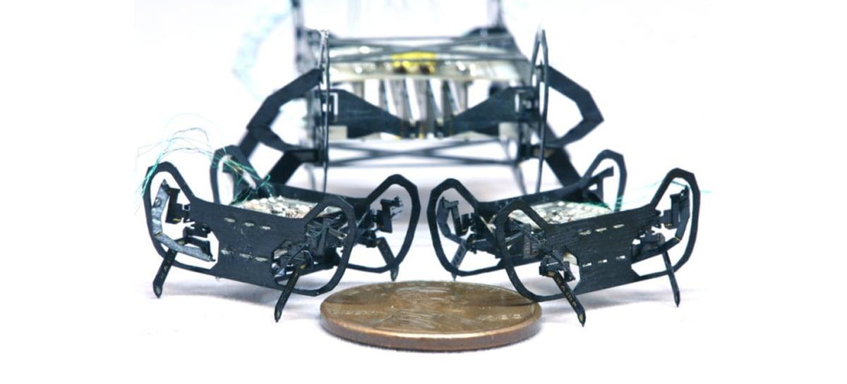 Pesquisadores de Harvard criam um novo micro robô inspirado em insetos
