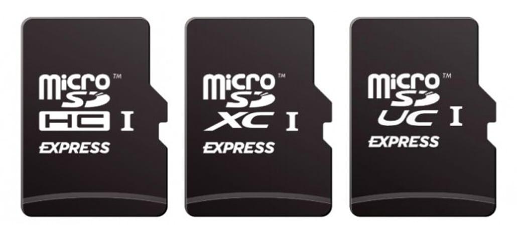 SD Association anuncia o microSD Express com velocidades de até 985MB/s