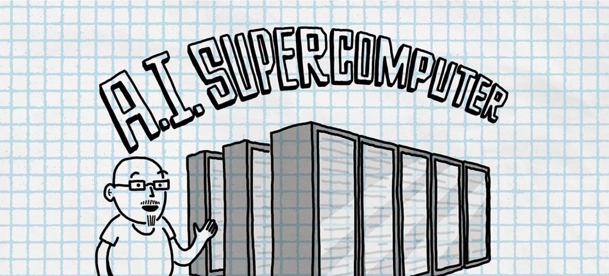 Microsoft anuncia um supercomputador para Inteligência Artificial