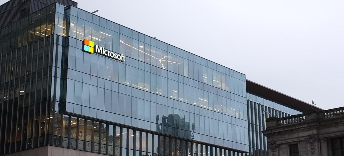 Microsoft alcançou uma receita de US $ 46,2 bilhões no último trimestre