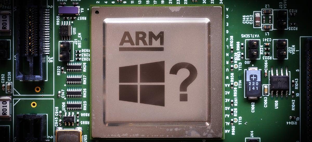 Microsoft pode estar desenvolvendo seus próprios chips com arquitetura ARM